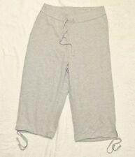Plus JMS Just My Size French Terry Capri Pants Capris 3X Light Steel NEW