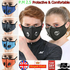 Sports Anti-Pollution Breathable,Cycling, Face Protection with Filter UK SELLER