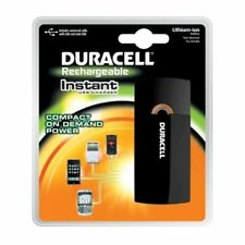 Duracell Instant USB Charger/Includes Universal Cable with USB&mini USB, 3 Coun
