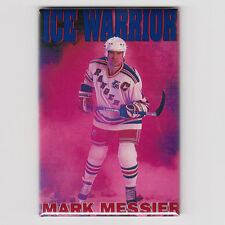 MARK MESSIER / ICE WARRIOR - MINI POSTER FRIDGE MAGNET costacos nike nhl rangers