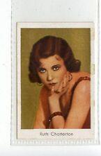 (Jd3775) SALEM,FILM STARS,RUTH CHATTERTON,1930,#176