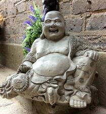 Very Large Beautifully Detailed Happy Buddhas Statue . (17kg) From Sius