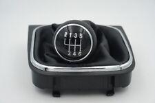 VW Volkswagen Golf mk5 mk6 6v Gearstick Gear knob, pomo + funda de  cambio
