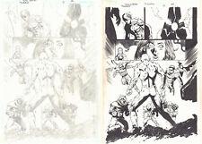 Flash: The Fastest Man Alive #12 p.22 Flash vs Rogues Gallery by '07 Tony Daniel Comic Art