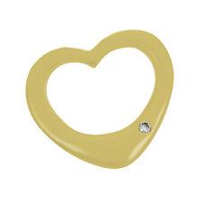 """Damenanhänger """"Herz"""" in Gelbgold 585/ 2,9 gr. mit 1 Diamanten ca. 0,04 ct."""