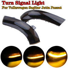 2x Dynamic LED Turn Signal Light Mirror For VW Golf 5 Jetta MK5 Passat B6 Lamp