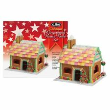 7 PIECE CHRISTMAS GINGERBREAD HOUSE COOKIE CUTTER KIT SET BAKING SET IN GIFT BOX