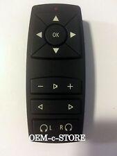 OEM 2007 - 2013 BMW X5 X6 REAR DVD ENTERTAINMENT REMOTE CONTROL P/N 9179842