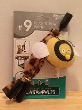 Plug 'n' Play Wand #9 for Catropolis Kit by Master Paws Cat Toy w/ Catnip ~ Htf
