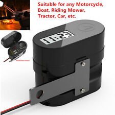 3A Dual USB Charger Socket Voltmeter Cigarette Lighter Power Bank Motorcycle Kit