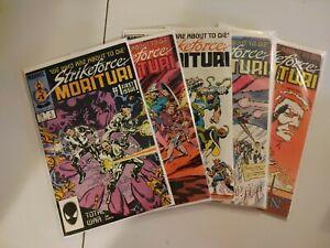 Strikeforce: Morituri #1,3,5,6 & 8 (Marvel)(5t)