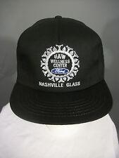 Vintage Ford Black UAW NASHVILLE Glass Plant Embroidered Snapback Hat Cap NOS