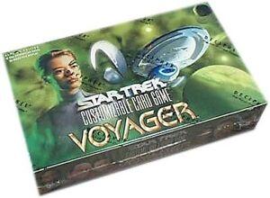 STAR TREK CCG : VOYAGER SEALED BOOSTER BOX