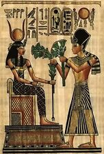 Isis & Osiris~counted cross stitch pattern #1173~Egyptian People Fine Art Chart
