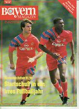 BL 91/92 FC Bayern München - FC Hansa Rostock