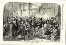 1862 Shilling Day At The International Exhibition