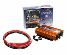 Tiger Claw 3000 Watt Power Inverter DC-AC 6000 Watt Peak Power Car Truck + Cable