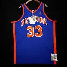 100% Authentic Patrick Ewing Mitchell & Ness 96 97 Knicks Jersey Size 36 Small S