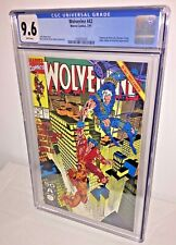 Wolverine #42, CGC 9.6, White Pages