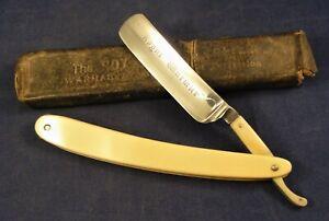 "Vintage British Royal Warmar 6/8"" Cut Throat Straight Razor  - Marples Sheffield"
