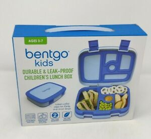 Bentgo Kids Lunch Box 5 Practical Compartments and Leak Proof Blue