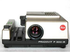 Leica Pradovit P300 IR Proiettore per Diapositive Con Colorplan-P2 1:2.5/90