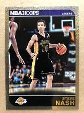 2014-15 Hoops Gold #196 Steve Nash Basketball Card