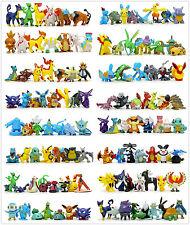 Lot 150pcs Pokemon Figures Set Pocket Monster Collection Toy Large Size 4-6cm