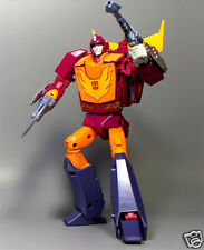 Transformers Masterpiece MP-28 Cybertron Cavalier Hot Rodimus G1 Action Figure