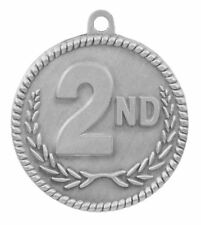 Lot of 20 2nd Place Medals w/Ribbon-Low Shipping #M65