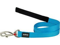 Red Dingo Dog/Puppy Lead - Classic Turquoise - FREE P&P