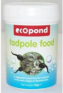 EcoPond Tadpole Food for Late Stage of Development - High Protein - 20g