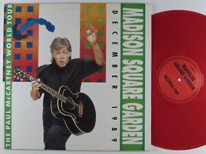 PAUL MCCARTNEY Madison Square Garden December FLOWER 3XLP VG+ colored vinyl #