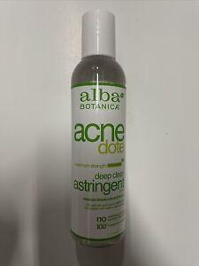 ALBA ACNEdote Deep Clean Astringent, 6-Ounces