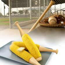 Invotis Bat Corn Cob Holder NEU/OVP Maiskolbenhalter Baseball Schläger Hoobbe