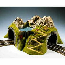 More details for noch double track curved tunnel 43x41x23cm ho gauge scenics 05180