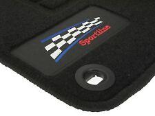 Velours Auto Fußmatten Teppiche für BMW 3er E36 Limo+Touring Bj 90-98 Logo Fa 4t