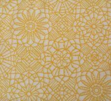 Amazing Lace Studio 8 BTY Quilting Treasure Yellow White 100% Cotton Screenprint