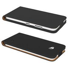 Tasche für Nokia / Microsoft Lumia 635 Flip Case Schutz hülle Cover Etui schwarz