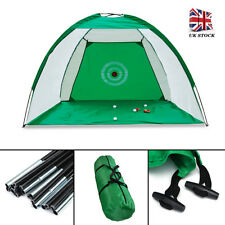 Golf Hitting Net Outdoor Sports Portable Practice Cage Indoor Garden Trainer UK