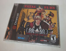 *Brand NEW* Factory Sealed Fatal Fury: Mark of the Wolves (Sega Dreamcast, 2001)