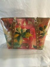 New ListingPatricia Nash Treviso Leather Tote Color: Spring Multi-Color W/ Eye Glass Case