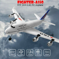 XK A150 Airbus B747 Model Plane RC Fixed-wing RTF EPP 3CH 2.4G Airplane Toy