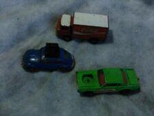 Lot of 3 Model Cars Matchbox Series No. 62 Corgi Juniors Coca Cola Truck Husky