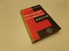 Passeport diplomatique, Jean-Jacques Thierry, 1957  Envoi Livre Dedicace