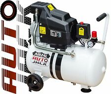 Portable 24 Litre Tank Air Compressor 2HP 24L 8 Bar 115PSI CFM 240v Heavy Duty