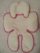 Infant Snuzzler Infant Support for Car Seats and Strollers Velboa Pink by Summer