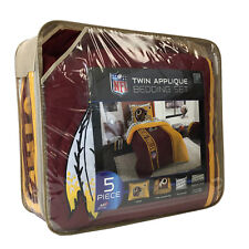 New 5pc NFL Washington Redskins Bedding Comforter Pillowcase Sheet Set Twin Size