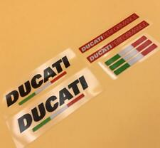 Racing MOTO GP Motorcycle Decal Stickers Set for Ducati Performance Course Evo