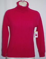 JONES NEW YORK 100% Cashmere New Garlan Turtleneck Sweater PM $179 NWT